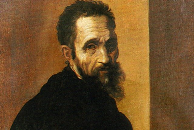 portrait_Michelangelo