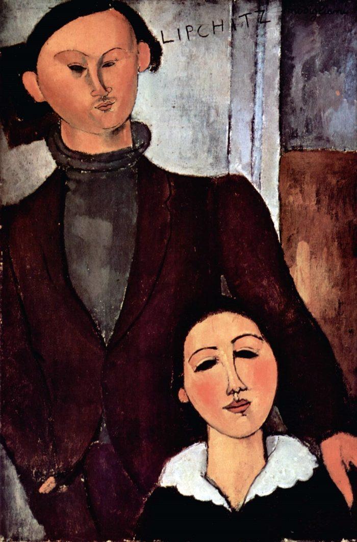 ジャック・リプシッツ夫妻の肖像