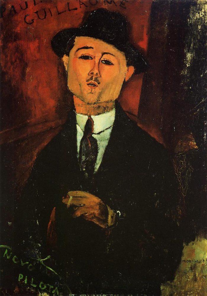 モディリアーニ作『ポール・ギョ―ムの肖像』
