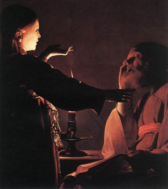 制作年不詳 93×81㎝ ナント美術館蔵 別名:聖ヨセフの夢