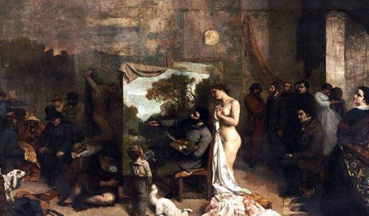 画家のアトリエ