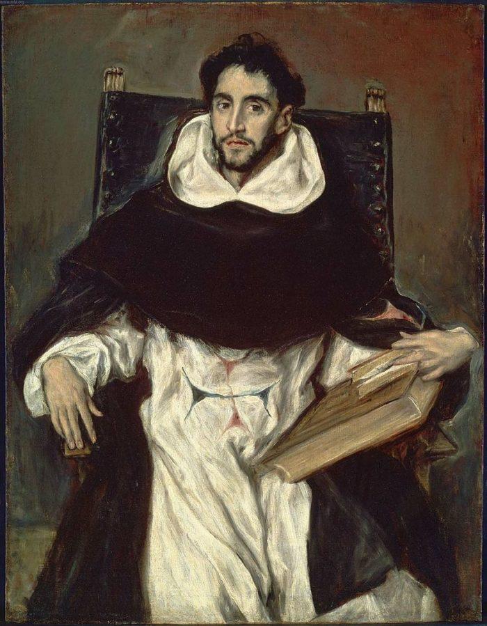「オルテンシオ・フェリス・パラビシーノの肖像」 1609年 112.1×86.1㎝ ボストン美術館蔵