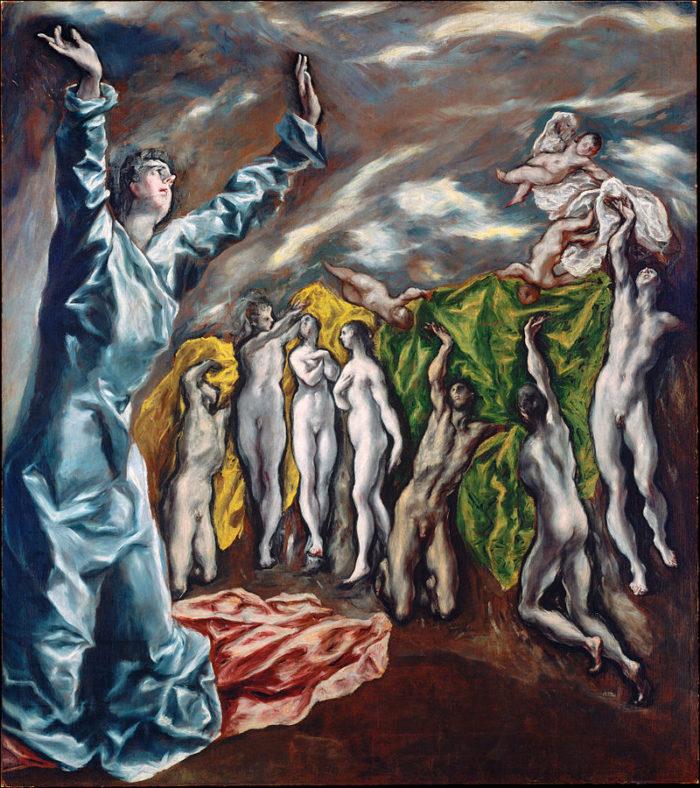 1608~1614年 225×193㎝ ニューヨーク メトロポリタン美術館蔵
