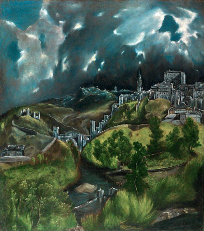 トレド風景 ニューヨーク メトロポリタン美術館蔵