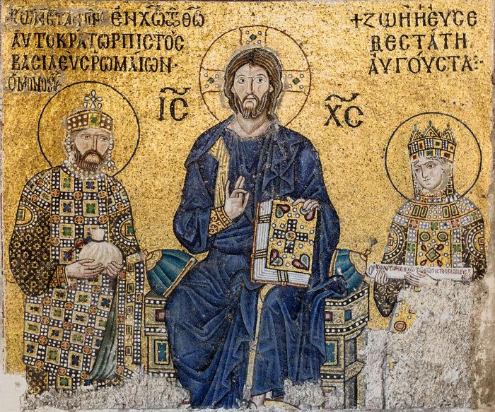 ビザンチン美術の代表的モザイク画