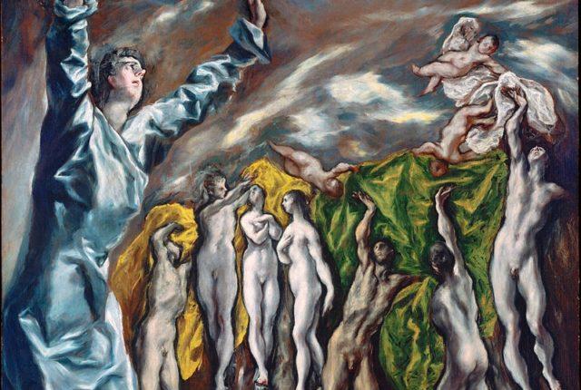 「福音書記者ヨハネの幻視:黙示録の第5の封印」 1608~1614年 225×193㎝ ニューヨーク メトロポリタン美術館蔵