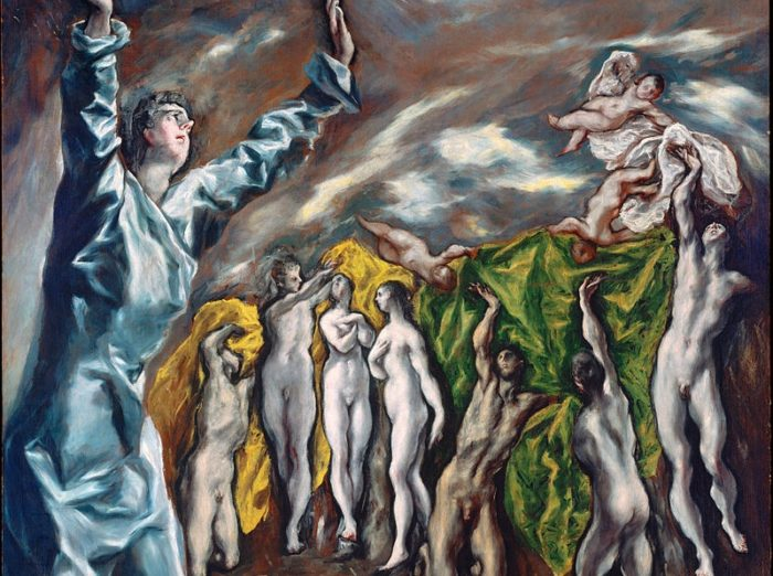 「福音書記者ヨハネの幻視:黙示録の第5の封印」