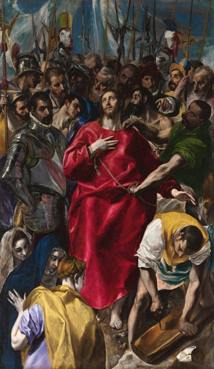 「聖衣剥奪」 1577-79年 275×173㎝ トレド大聖堂蔵