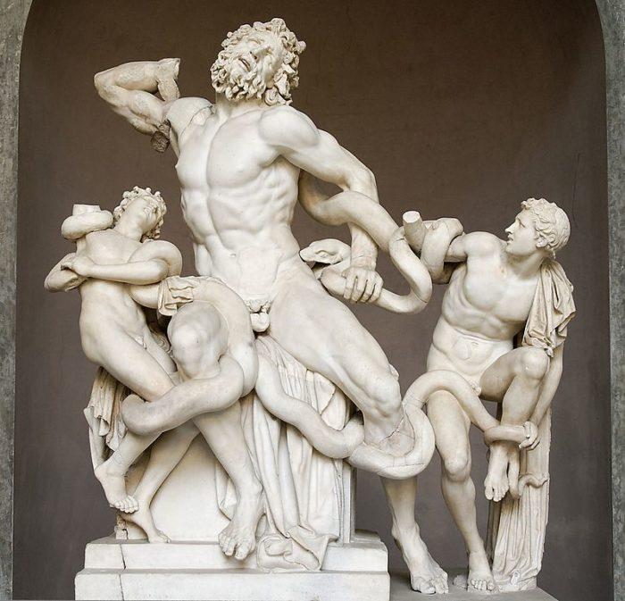 古代ギリシャ彫刻『ラオコーン』