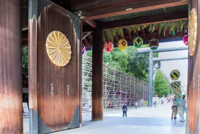 靖国神社の神門