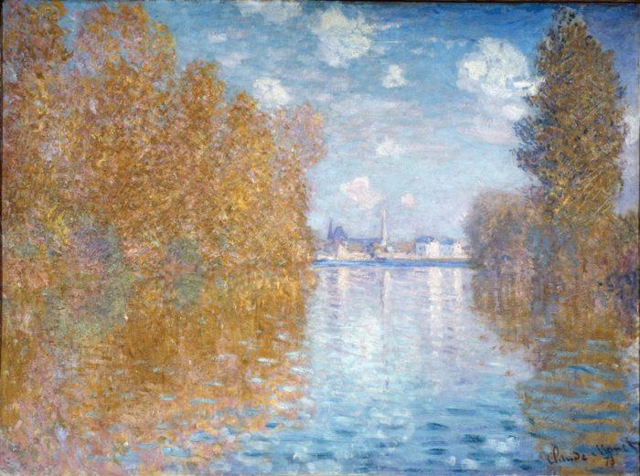 「秋の効果、アルジャントゥイユ」