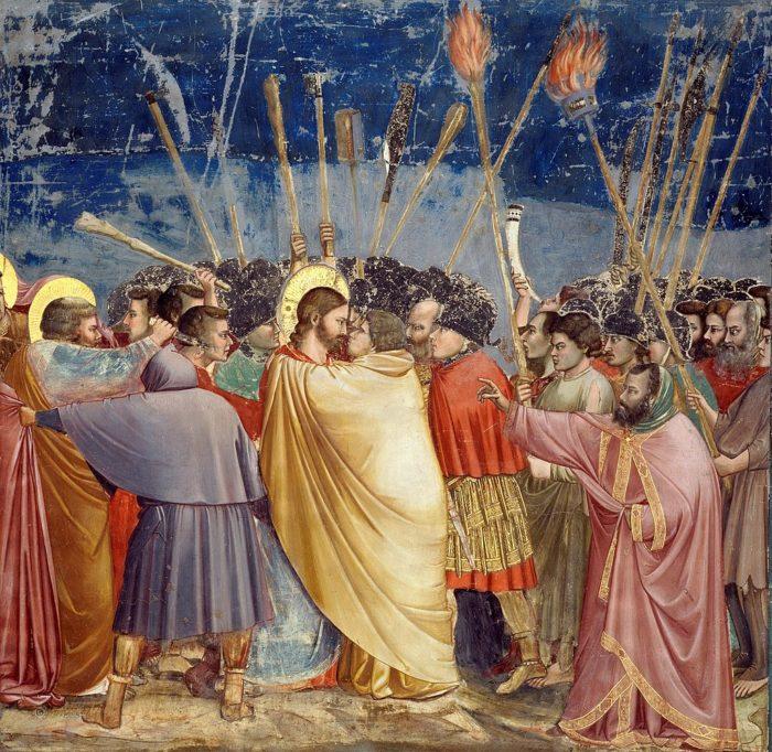 ジョットの代表作⑦『 裏切られたキリスト 』