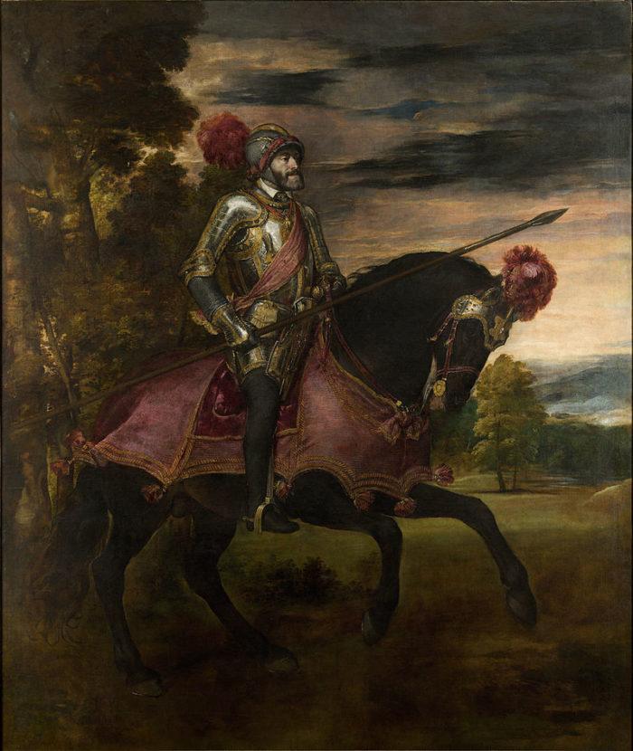 『 カール5世騎馬像 』