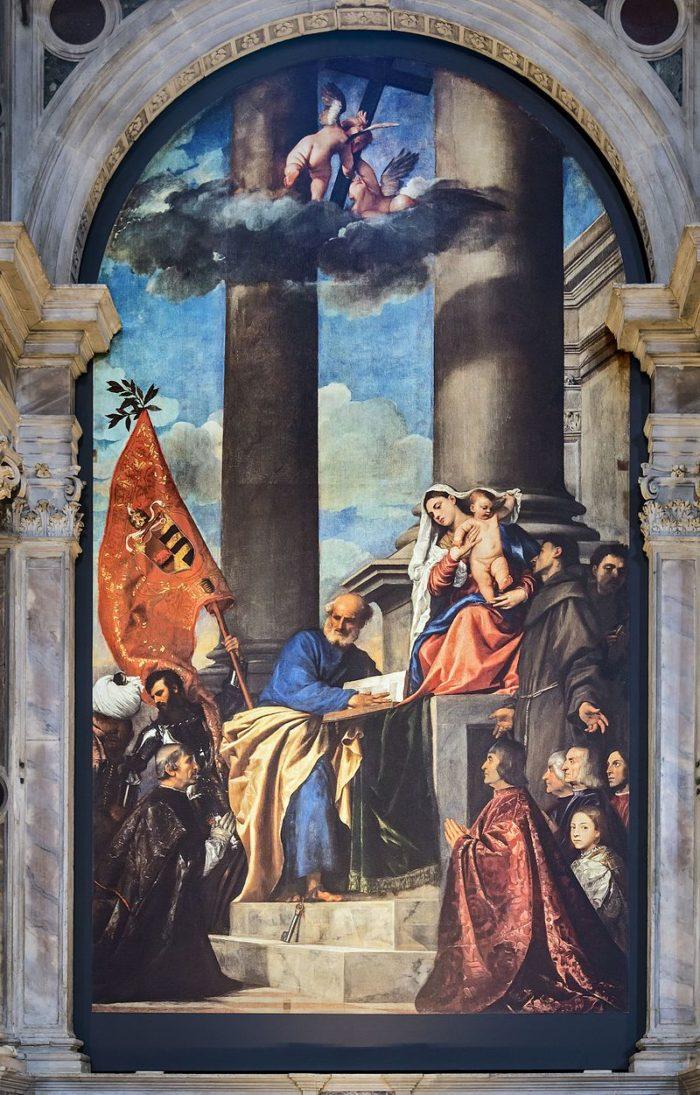 『 ペーザロの聖母 』